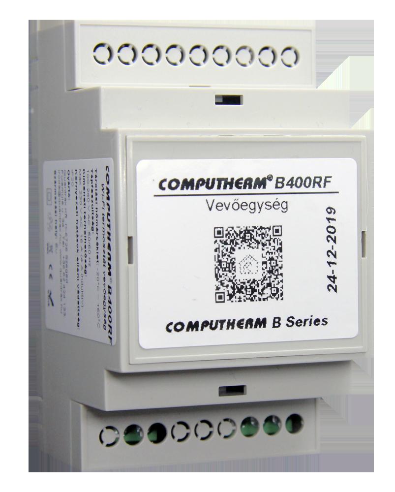 Computherm - Wi-fi termosztátok -  COMPUTHERM B400RF - Quantrax Kft.