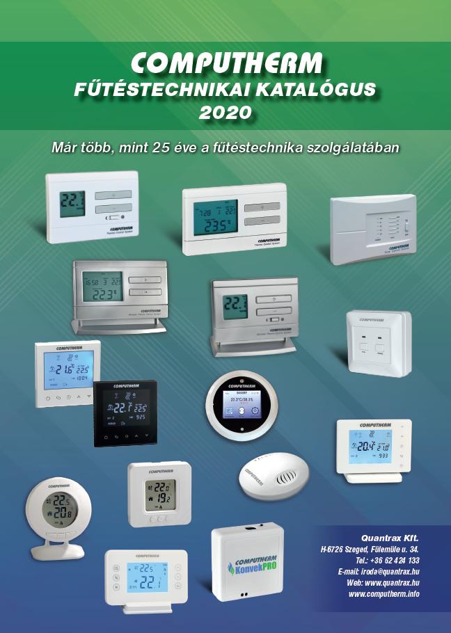 Computherm - Digitális, Wi-fi, mechanikus termosztátok - Quantrax Kft.
