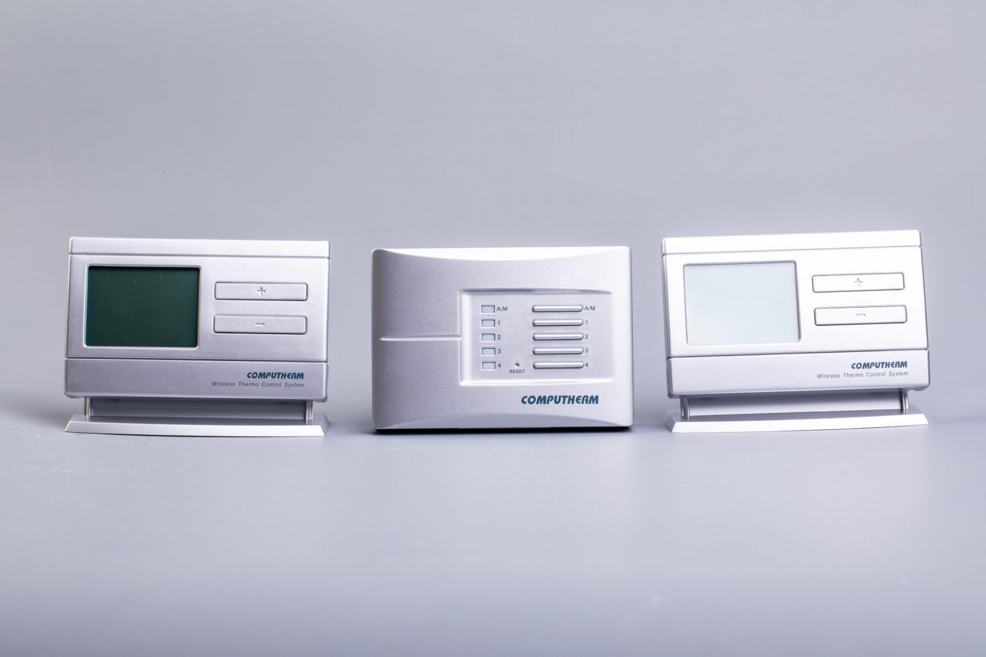 Computherm termostati Q8RF Wireless Multi-Zone 2 statistiche Trasmettitore Wireless UK