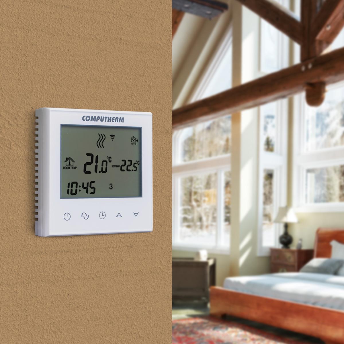 Computherm - Wi-fi termosztátok -  COMPUTHERM E280 - Quantrax Kft.